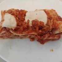 Lasagnes bolognaise sans produits laitiers
