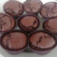 Muffins au chocolat sans œuf et sans lait, à la courgette